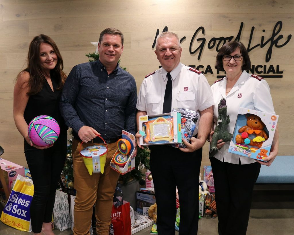 Tribeca Financial, Salvation Army Christmas Appeal