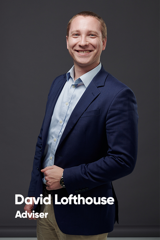 David Lofthouse, Adviser