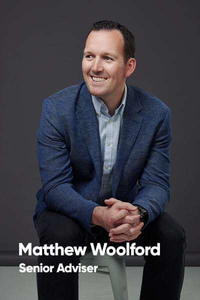 Matthew Woolford, Senior Adviser