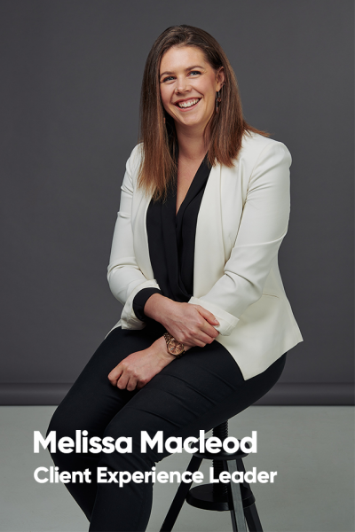Melissa Macleod, Client experience leader