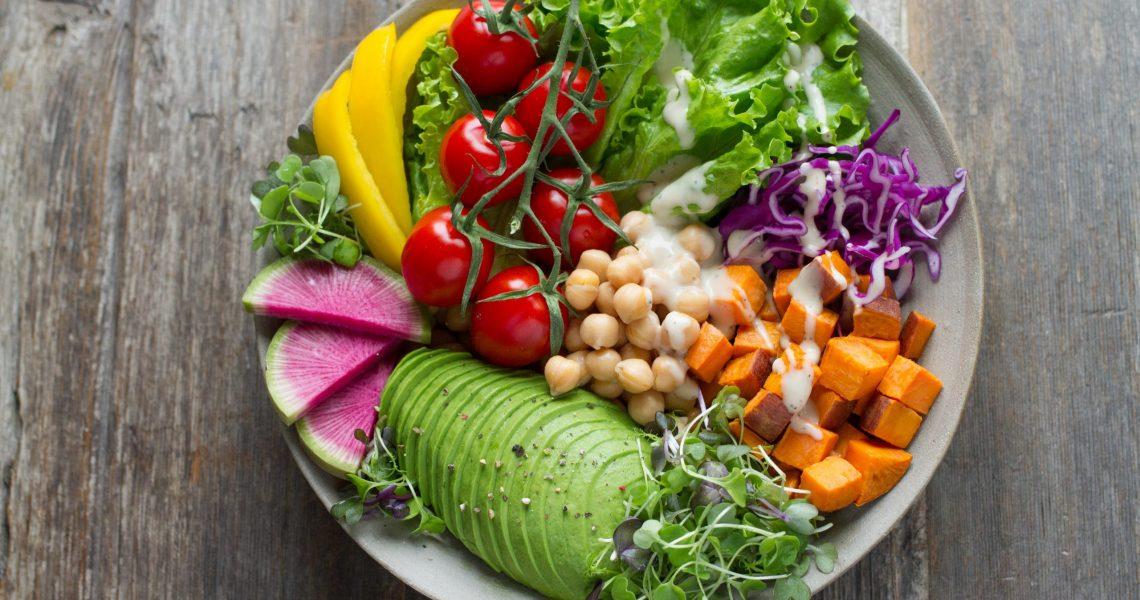 Healthy Salad reduce stress