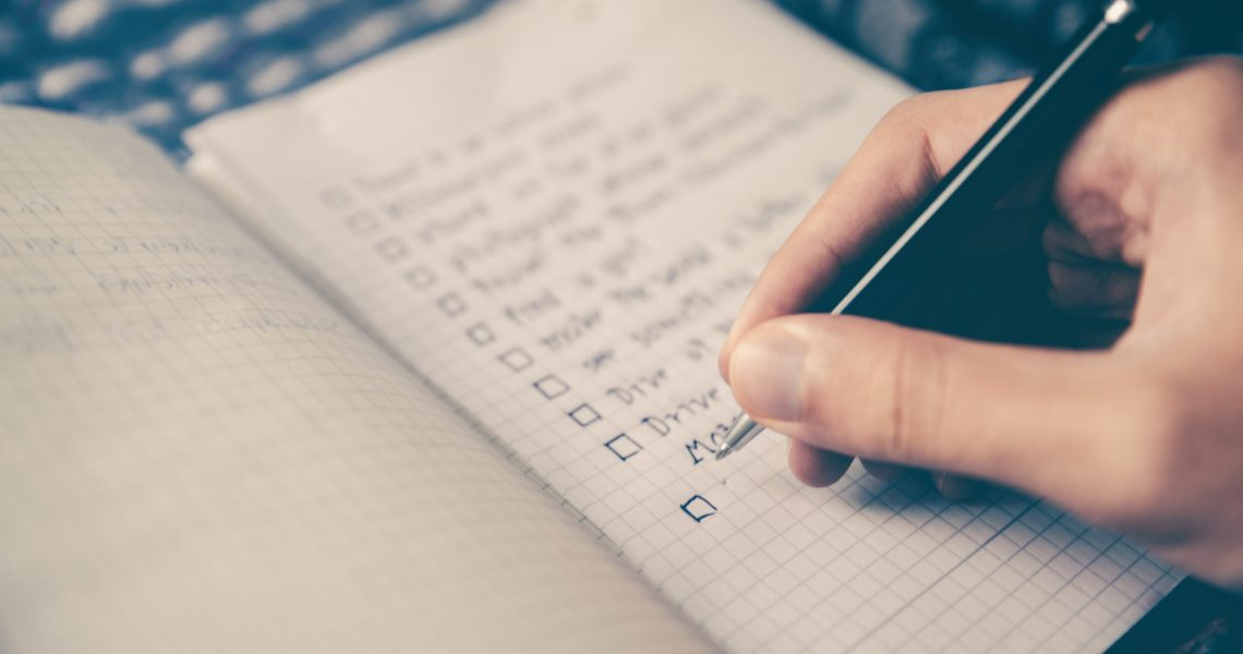 The secrets to starting and achieving your Good Life List